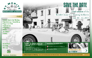 British Classic Car Meeting ST. Moritz